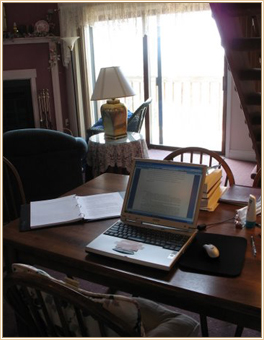 writing at mackinac island michigan