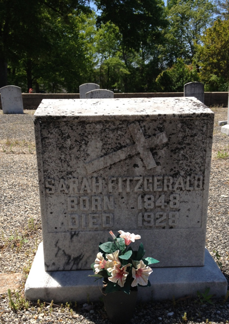 Sarah Fitzgerald Grave
