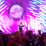 Red Hat Society On Stage Victoria Wilcox