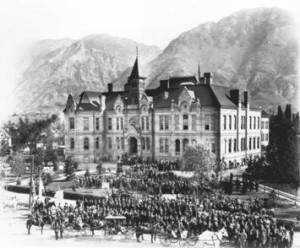 Brigham Young Academy 1892