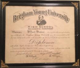 Diploma 1916