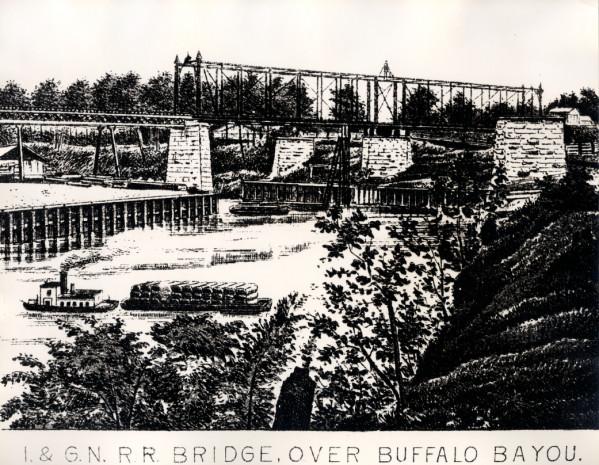Buffalo Bayou, near Houston