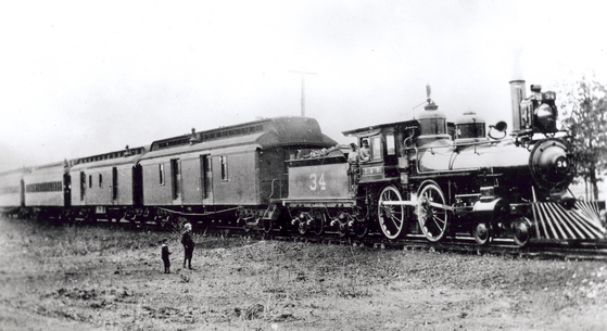Texas & Pacific Railroad, Dallas