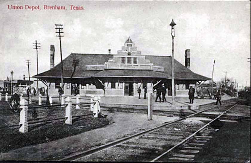 Train Depot, Brenham