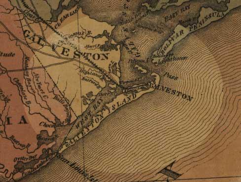 Galveston Island 1870's
