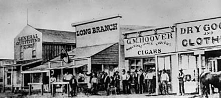 Long Branch Saloon, Dodge City