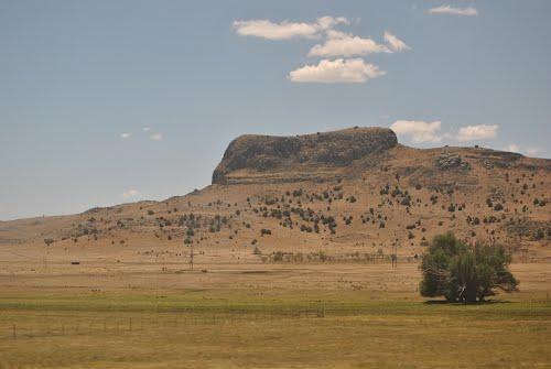 Wagon Mound on the Santa Fe Trail