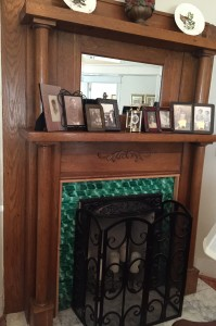 Holliday Office House Mantel