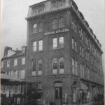 The Pennsylvania College of Dental Surgery, circa 1872