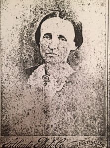 Mary Anne Fitzgerald Holliday, 1880's