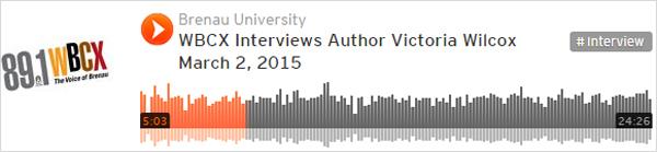 Victoria Wilcox Brenau University WBCX Radio Interview