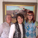 Arts Clayton Gallery Staff and Victoria Wilcox