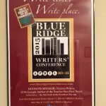 Blue Ridge Writers Conference Poster