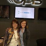 Georgia Public Broadcasting On Second Thought radio show producer Jessica Metzger and Victoria Wilcox