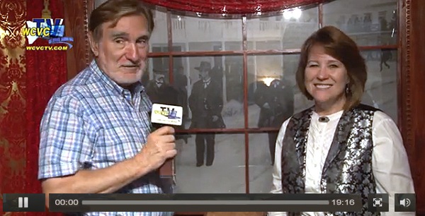 WCVC TV Interview Victoria Wilcox Doc Holiday