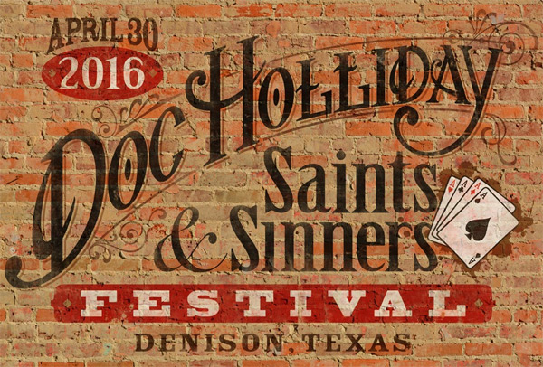 Doc Holliday Saints & Sinners Festival