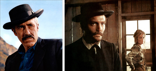 "Two actors with cleft lips who played Doc Holliday: Jason Robards (in 1967's ""Hour of the Gun"") and Stacey Keach (in 1971's ""Doc"")"