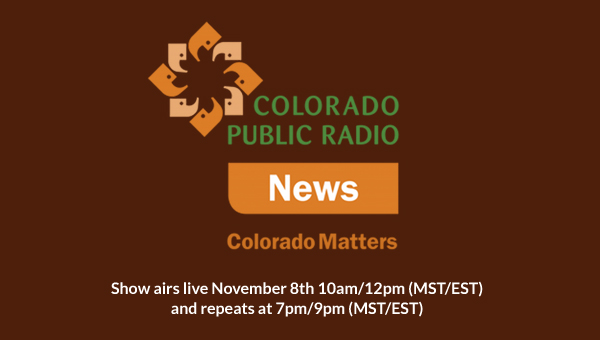 Victoria Wilcox on Colorado Public Radio