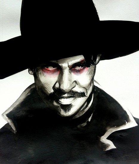 Doc Holliday by Contrapposto