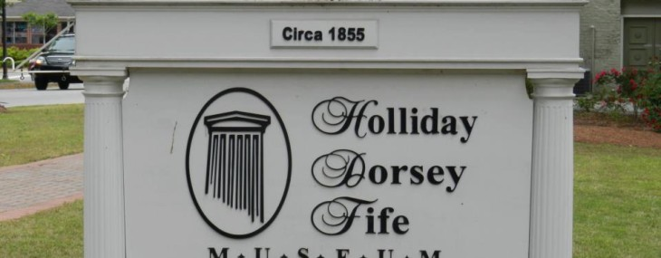Holliday House Sign
