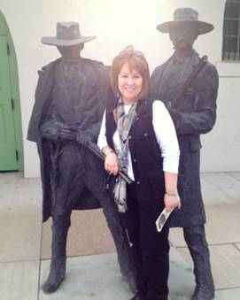 Doc and Wyatt Monument