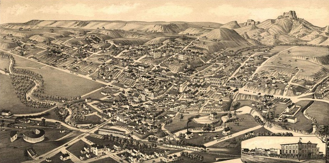 Map Of Trinidad Colorado