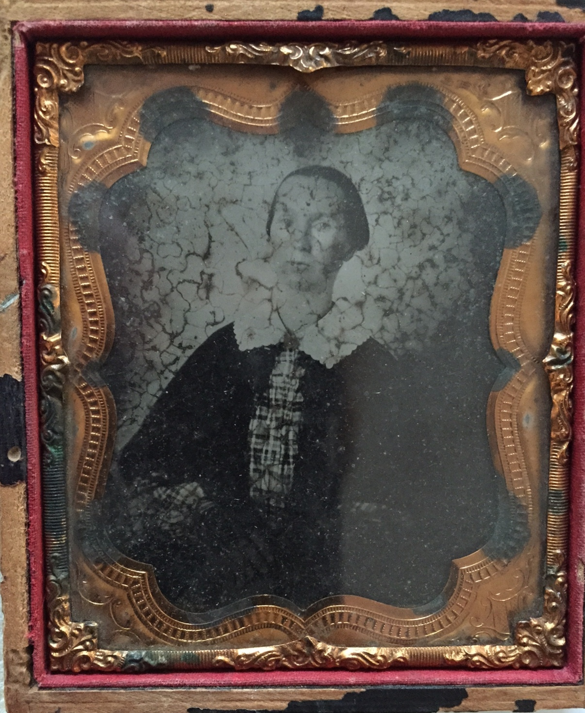 Mary Anne Fitzgerald Ambrotype