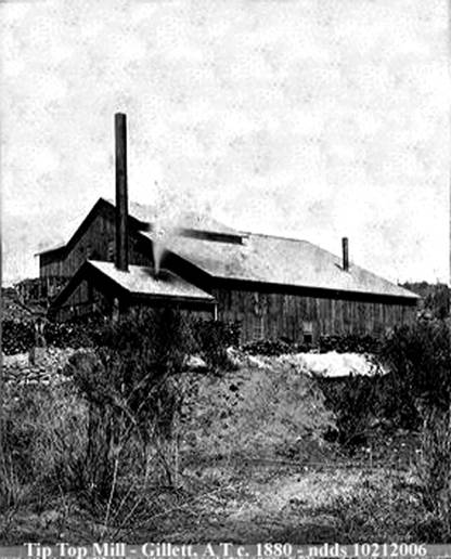 Tip Top Mine, Gillette, Arizona Territory
