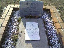 "Martha Eleanora's ""Ellie"" Grave"