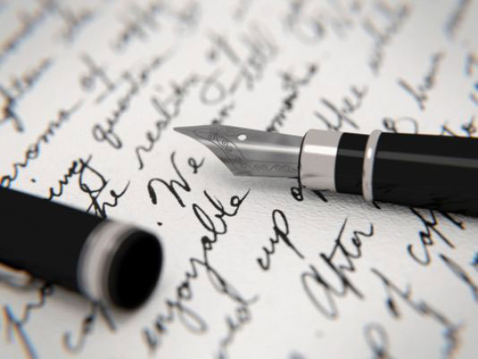 Letter and Fountain Pen