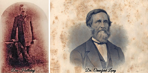 Doc Holliday & Dr. Long: Bringing Life to a Legend