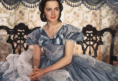 "Olivia De Havilland as Melanie Hamilton in ""Gone With the Wind"""