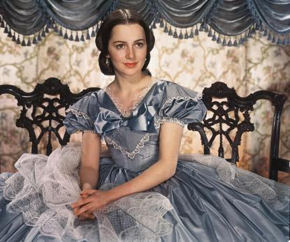 "Olivia De Havilland as Melanie Hamilton in ""Gone With the Wind"""