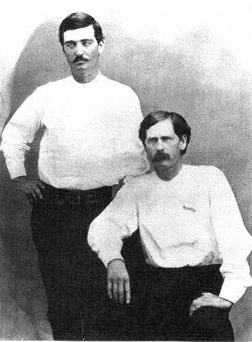 Wyatt Earp & Bat Masterson, Dodge City