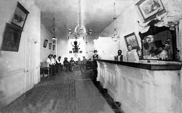 Long Branch Saloon interior