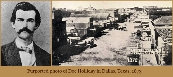 Why Doc Holliday Went West