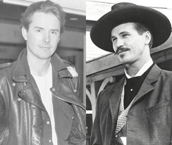 "Screenwriter Kevin Jarre who wrote ""Tombstone,"" and Val Kilmer."