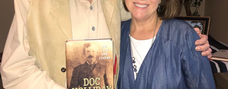 Wild West History Association Award Gary Roberts