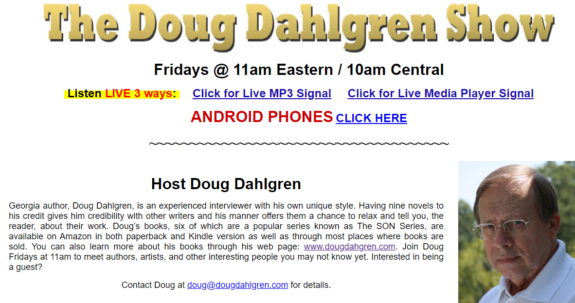 Doug Dahlgren Artist First Radio Network