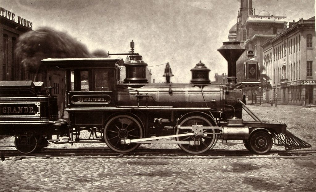 Denver Rio Grande Locomotive